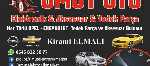 Umut Oto Chevrolet Opel Yedek Parça Aksesuar